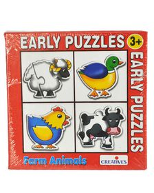 Creatives Toys Early Puzzles Farm