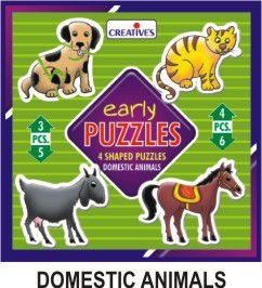 Creatives Toys Early Puzzles Domestic