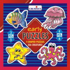 Creatives Toys Early Puzzles Sea