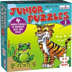 Creatives Toys Junior Puzzles 1