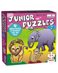 Creatives Toys Junior Puzzles 2