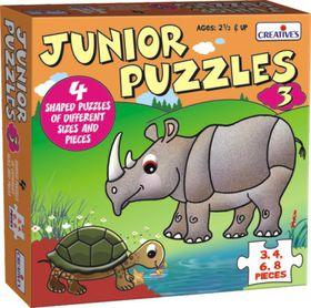 Creatives Toys Junior Puzzles 3