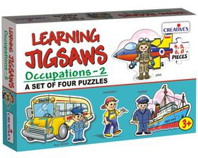 Creatives Toys Learning Jigsaws - Occupations 2