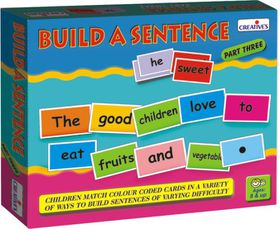 Creatives Toys Build A Sentence Part 3