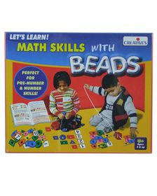 Creatives Toys Math Skills with Beads