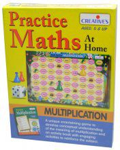 Creatives Toys Practice Maths at Home - Multiplication