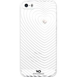 White Diamonds iPhone 6 Mobile Case Heartbeat - White