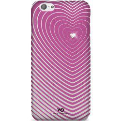 White Diamonds iPhone 6 Mobile Case Heartbeat - Pink