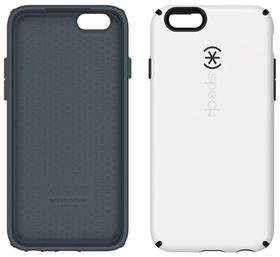 Speck Cases Apple iPhone 6 Candy Shell - White & Charcoal Grey