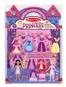 Melissa & Doug Puffy Sticker Play Set Princess