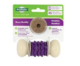 Pet Safe - Busy Buddy Nobbly Nubbly Rawhide - Extra-Small