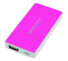 Whizzy 2200 mAh Power Bank (Pink)