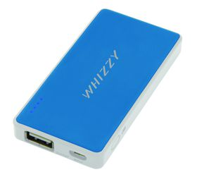 Whizzy 2200 mAh Power Bank - Blue