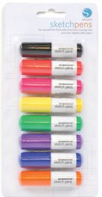 Silhouette CAMEO Sketch Pen Basic Pack - 8 Colours