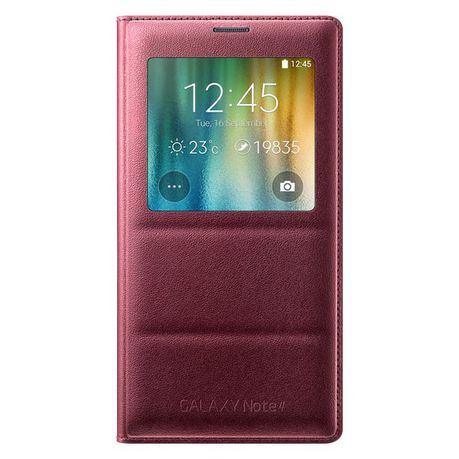 Samsung Galaxy Note 4 S View Cover Plum Buy Online In South