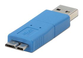Lindy 71251 A Male to Micro B Male USB 3.0 Adapter