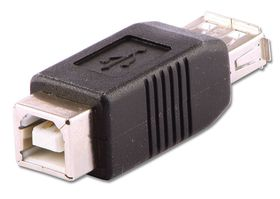 Lindy 71228 A Female to B Female USB Adapter