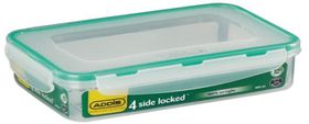 Addis - Rectangle 4 Sided Clip Lock Saver - 800ml