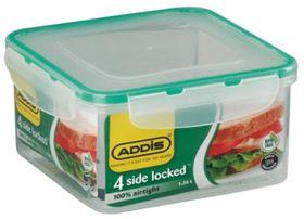 Addis - Square 4 Sided Clip Lock Saver - 1.2 Litre