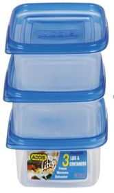 Addis - Lite Square - Set Of 3 - 800ml