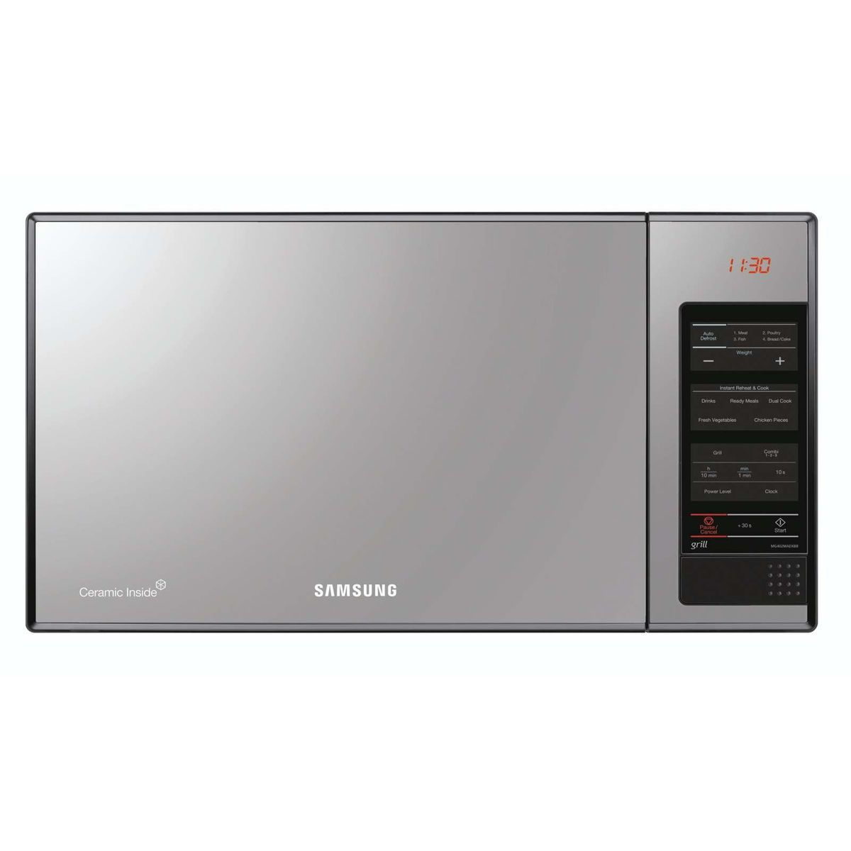 Samsung 40 Litre Mirror Finish Microwave Oven Black Loading Zoom