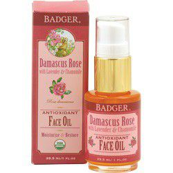 Badger Organic Damasus Rose Antioxidant Face