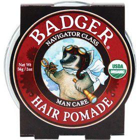 Badger Hair Pomade - 56 Grams