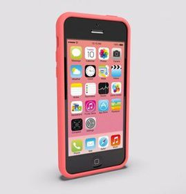 Wallee iPhone 5C Case - Pink