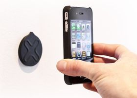 Wallee iPhone Mount Disks Pack of 2 - Black
