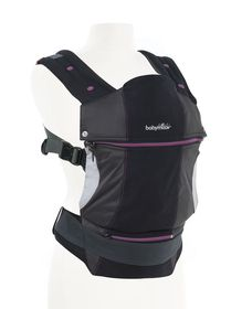 Babymoov - Anatomical Baby Carrier Black & Hibiscus