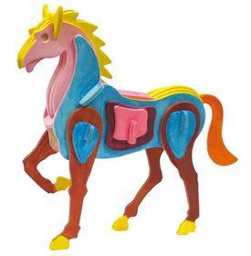Robotime 3D Wooden Puzzle With Paints - Horse