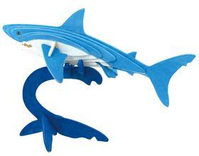 Robotime 3D Wooden Puzzle With Paints - Shark