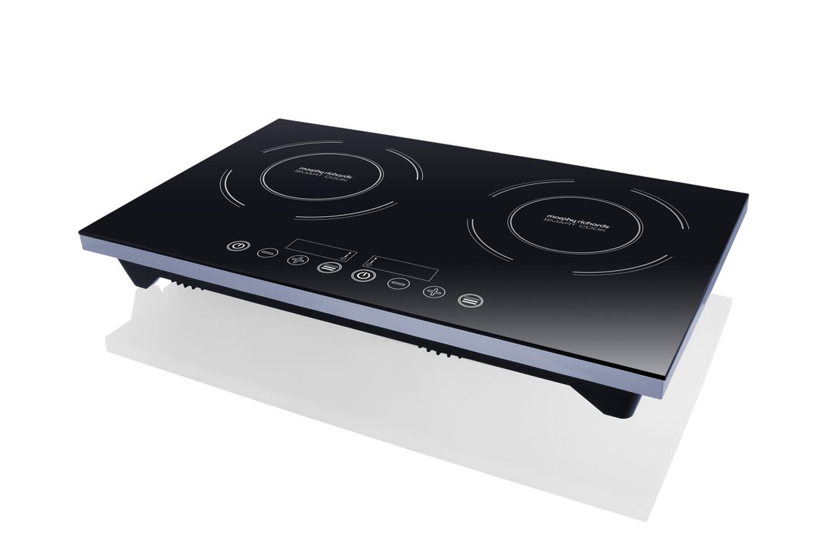 Double Induction Cooker ~ Morphy richards double induction cooker black