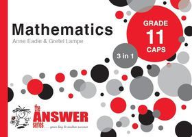 the answer series grade 11 mathematics 3in1 caps study guide buy rh takealot com Hat Study Addition Study Guide