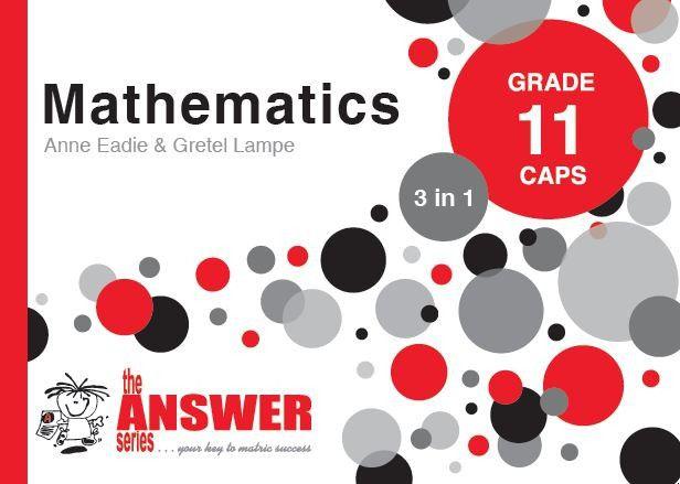 the answer series grade 11 mathematics 3in1 caps study guide buy rh takealot com mathematics study guide grade 11 Paraprofessional Test Study Guide