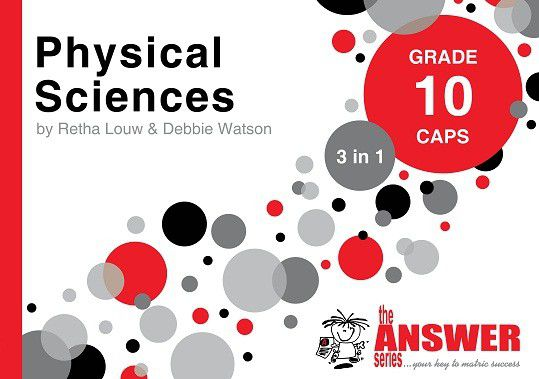 the answer series grade 10 physical sciences 3in1 caps study guide rh takealot com High School Physics Study Guide DV Physics Study Guide