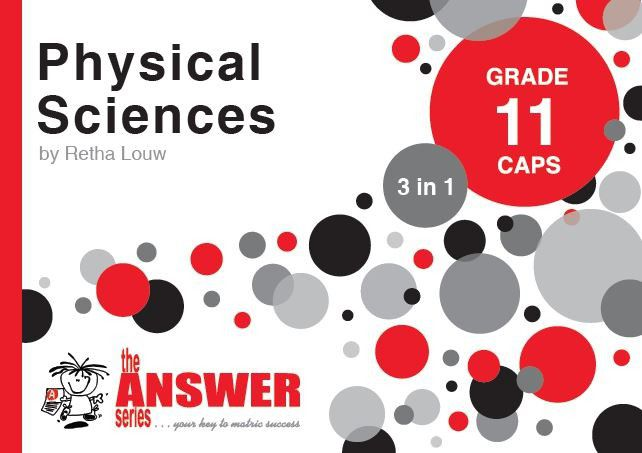 the answer series grade 11 physical sciences 3in1 caps study guide rh takealot com High School Physics Study Guide High School Physics Study Guide
