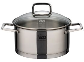 Elo - Straightline Casserole With Glass Lid - 20cm