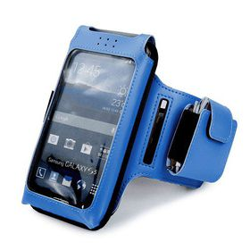 Tuff-Luv Sports Armband for Smartphones - Blue