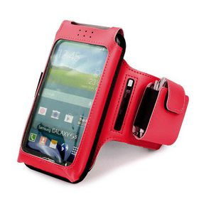 Tuff-Luv Sports Armband for Smartphones (Red)
