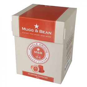 Mugg & Bean Single Origin Coffee Capsules