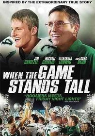 When The Game Stands Tall - (Region 1 Import DVD)