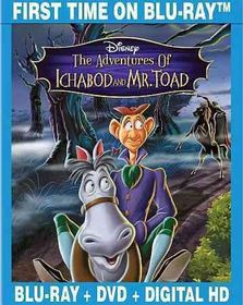 Adventures of Ichabod & Mr. Toad Se - (Region A Import Blu-ray Disc)