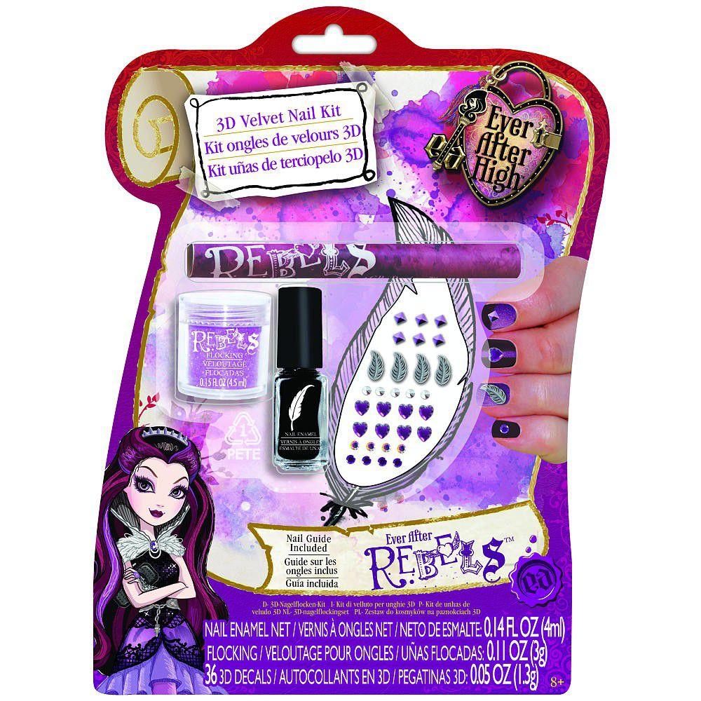 Ever After High 3d Nail Art Kit Purple Buy Online In South