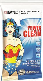 Emtec Multi-Surface Wipes - Wonder Woman