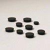 Nobo 25mm Whiteboard Magnets - Black (Pack of 10)