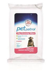 Pet Patrol - Dog Grooming Wipes - 10's
