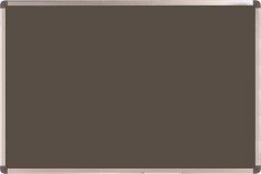 Nobo Elipse Felt Notice Board 600mm x 900mm - Grey