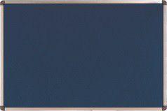 Nobo Elipse Felt Notice Board 900mm x 900mm - Blue