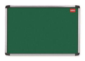 Nobo Elipse Felt Notice Board 900mm x 900mm - Green